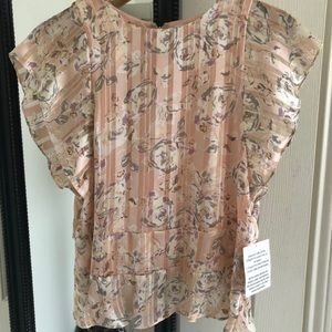 Maette by Stella & Dot Floral Addison top